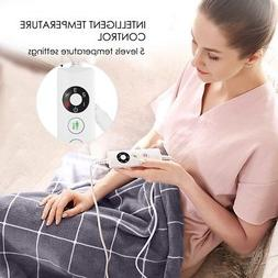 Electric Heating Pad Foot Warmer Auto Shut Off Ultra Soft Cr