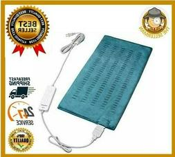 Electric Heating Pad For Back Pain Relief Ultra Soft Moist D