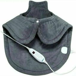 SABLE Electric Heating Pad for Neck & Shoulder Pain Relief 2