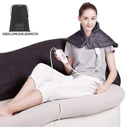 Electric Heating Pad for Neck Shoulder and Upper Back Pain R