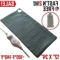 Electric Heating Pad For Shoulder Neck Back Spine Legs Feet