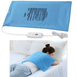 Electric Heating Pad King Size Back Pain Relief Dry Moist Ne