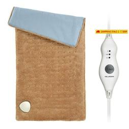 electric heating pad king size ultra soft