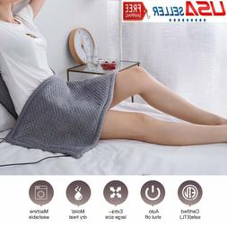 Electric Heating Pad King Size XL Fast Neck Shoulder Back Pa