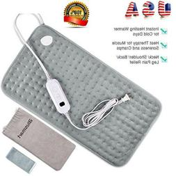 electric heating pad l size back pain