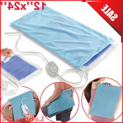 Electric Heating Pad Shoulder Neck Back Spine Legs Feet Pain