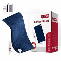 Electric Heating Pad with Fast-Heating Auto Shut Off for Bac