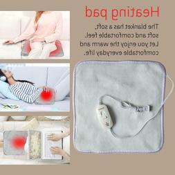 Electric Heating Pad with Fast-Heating Auto Shut Off Pain Re