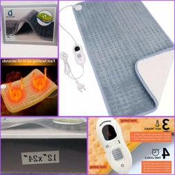 Electric Heating Pad XL Heating Pad with Auto Shut Off, Over