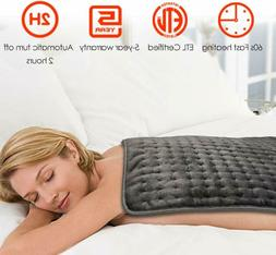 electric heating pad xxxl ultra wide microplush