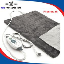 Electric Heating Pads For Back, Shoulder Neck, Legs Fast Pai