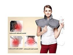 WE&ZHE Electric Heating Vest For Back Shoulder Chest, Far In