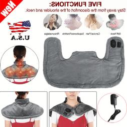 Electric Infraded Heat Shiatsu Neck and Shoulder Heating Pad
