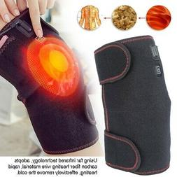Electric Knee Joint Thermal Therapy Pad Arthritis Pain Relie
