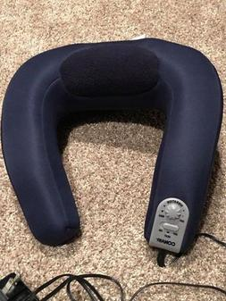 Conair Electric Neck Massager Heat Rest Soft Pad Heated Mass