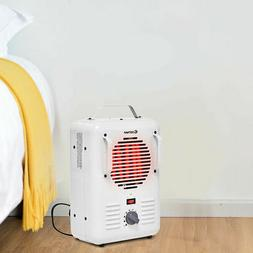 Electric Portable Utility Space Heater Thermostat Room 1500W
