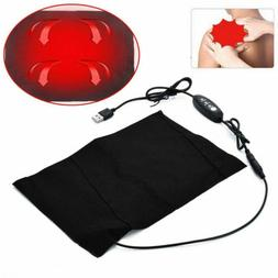 Electric USB Cloth Heater Pad Heating Heated Thermal Jacket