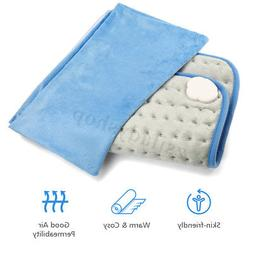 MIGICSHOW Electric Warm Heating Pad Relieve Back Neck Ache W
