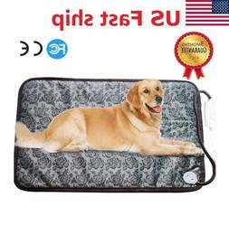 Electronic Heating Pet Dog Mat Pad Warm Cat Rug Thermal Wash