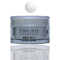 Elegance Salon Pro UV Gel Clear 0.5oz  One Phase Professiona