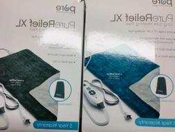 "Pure Enrichment PureRelief XL King Size Heating Pad  12"" x 2"