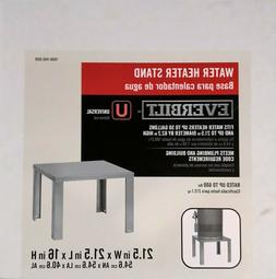 Everbuilt Universal Water Heater Stand Table 21X21X16 Holds