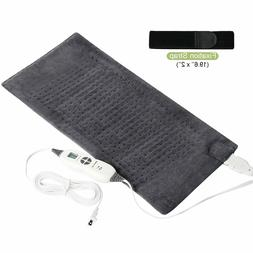 SanaWell Extra Large Electric Heating Pad with Auto Shut Off