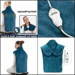 Extra Long Neck and Shoulder Heating Pad Electric Heating Wr