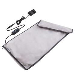 Far Infrared Electric Heating Pad with Auto Shut Off, W/Grap