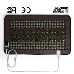 Far Infrared Heating Pad for Back Neck Shoulder Pain Relief,