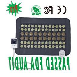 UTK Far Infrared Natural Jade And Tourmaline Heating Pad For