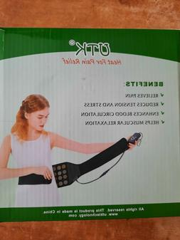 UTK Far Infrared Therapy Heating Pad for Back Pain Relief De