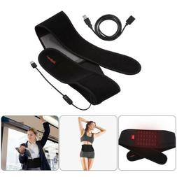 Far Infrared Waist Electric Heating Pad Belt Brace Back Abdo