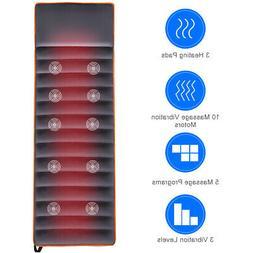 Home& Office Massage Mat Full Body Massage 10 Vibrating Moto