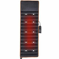 Foldable Full Body Massage Mat 10 Vibrating Motors Therapy R