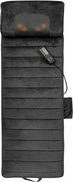 Full Body Massage Mat Neck Massager With Warm Calming Bed Ma