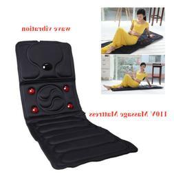 Full Body Vibrating Electric Massager Massage Mattress Heati
