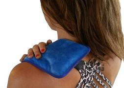Gel Ice Pack. Cold Or Heat Pad. Microwavable And Freezable.