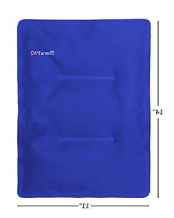 Large Gel Ice Pack by TheraPAQ: Reusable Hot & Cold Pack for