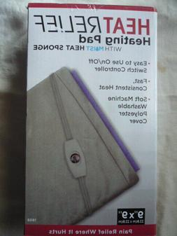 Heat Relief Small Heating Pad with Moist Heat Sponge