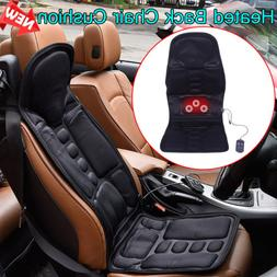 heated back massage seat cushion car seat