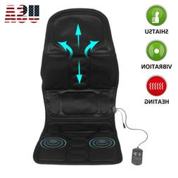 Heated Back Massage Seat Cushion Car Seat Chair Massager Nec