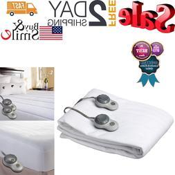 SUNBEAM HEATED ELECTRIC Comfort Mattress Pad Warming Bedding