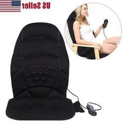 Heated Seat Cushion Car Full-Body Massage Pad Auto Home Offi