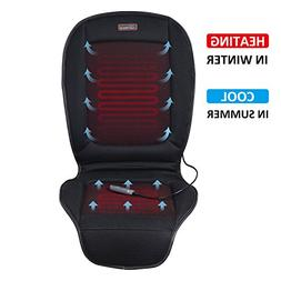 SNAILAX Heated Seat Cushion with Cooling - 2 Levels Heating