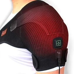 CREATRILL Heated Shoulder Wrap, 3 Heat Settings, Heating Pad