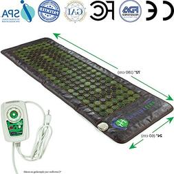 HL HEALTHYLINE - Far Infrared Jade Heating Mat - 72inL x 24i