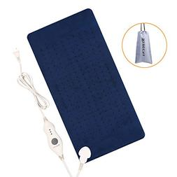 XL Heating Pad with Auto Shut Off - Electric Heat Pad with F