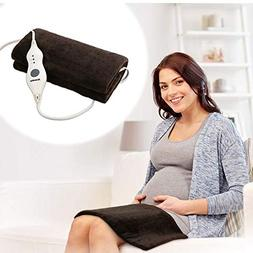 Arealer XL Heating Pad, Safe Electric Heat Pad with Fast Hea