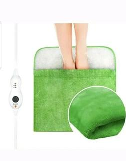 Heating Pad, Electric Heated Foot Warmer Ultra Soft Flannel